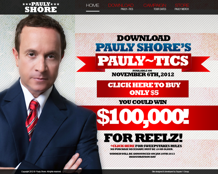 The New PaulyShore.com
