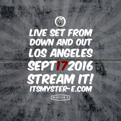 New Mix Alert! Live from Down & Out September 17, 2016
