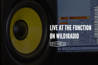 New Mix: Live at The Function exclusively on Wild1 Radio