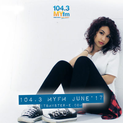 New Mix Alert! Live Mix for 104.3 MYfm [June '17]